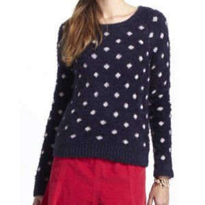 Moth Anthropologie Dotted Wooly Sweater